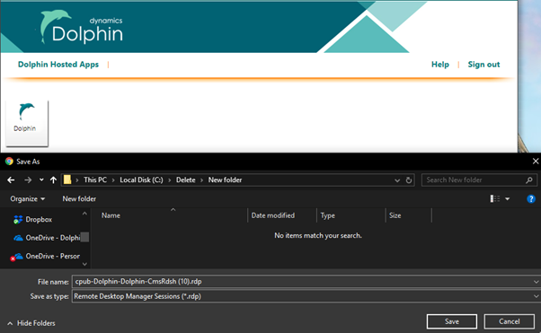 How to Login to New Dolphin Hosted Service – Dolphin